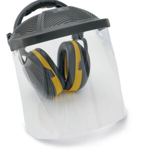 ED SET EAR MUFFS/POLYCARBONATE SHIELD