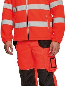 KNOXFIELD HI-VIS fleece jacket