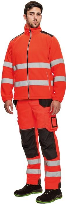 KNOXFIELD HI-VIS fleece jacket