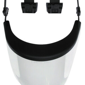 POLYCARBONATE VISOR WITH HOLDER
